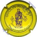 GOULIN-ROUALET n°25 inscription contour jaune
