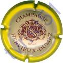 HERVIEUX-DUMEZ : contour jaune foncé fond crème foncé