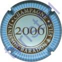 JANISSON-BARADON n°16a millésime 2006 contour bleu