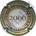 JANISSON-BARADON n°16b millésime 2006 contour or ( gris )
