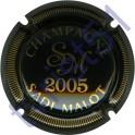 MALOT Sadi n°34j millésime 2005 noir striée