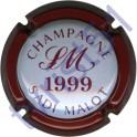 MALOT Sadi n°29 millésime 1999 contour bordeaux