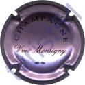 MONSIGNY VEUVE n°03 rosé-violacée et noir