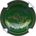 MOREL Jean-Paul n°04 vert striée