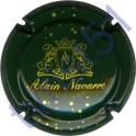 NAVARRE Alain n°06 vert foncé et or