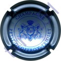 PETIT-GEOFFROY-TRIOLET : lions argent-bleuté et bleu