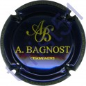 BAGNOST A. bleu-métal et or