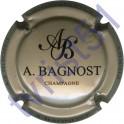 BAGNOST A. greige et noir