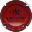 BAGNOST A. rouge et noir