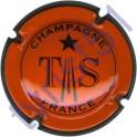TRIBAUT n°20 orange contour noir