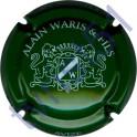 WARIS ALAIN n°03 vert et blanc