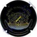 WARIS ALAIN n°05 noir et or