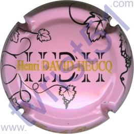 DAVID-HEUCQ Henri : fond rose pâle
