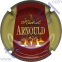 ARNOULD MICHEL n°36 rouge contour crème inscription contour