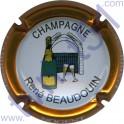 BEAUDOUIN René n°19 contour or