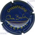 BEAUFORT Claude n°07 bleu foncé et jaune