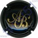 BAGNOST A. n°03 noir et or