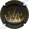BAGNOST A. n°04 marron et or