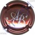 BAGNOST A. n°05 rosé et argent
