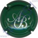 BAGNOST A. n°07 vert et argent
