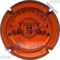 MALNIS Patrice n°05 orange et noir