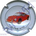 DOURY Philippe n°20 Alpine A110 rouge