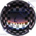 CARRE Vincent n°02 rosé-violacé et noir