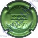 CHAPUY n°05 estampée vert métallisé