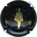 BERTRAND DE BESSAC n°08 noir et or