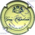 CHARBAUT Guy n°05 crème et bleu