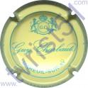 CHARBAUT Guy n°06 crème et bleu turquoise