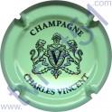 CHARLES Vincent n°04 vert pâle et noir