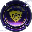 CHAUVET Marc n°08 violet métallisé et or