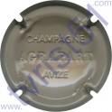 AGRAPART & Fils n°11 estampé gris-crème