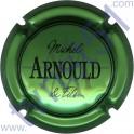 ARNOULD Michel : fond vert métallisé