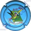 LEGER-LIEBART Eric n°01 Ecolibri fond bleu