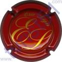 LEGER ERIC n°11 rouge et or