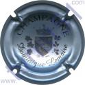 LEMAIRE Dominique n°04 petit blason argent-bleuté et noir