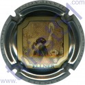 ELLNER Charles n°10c contour métal avec cadre noir