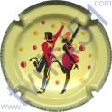 COTEAUX SIX CHARLES HESTON n°02 danseurs rouge