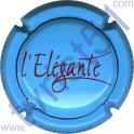 COTEAUX SIX CHARLES HESTON n°06 Elégante bleu pâle