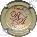 ALLAIT ROBERT n°30 Réserve gris-crème et marron