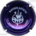 SAVOYE Janick n°14 violet métallisé et noir