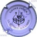 SAVOYE Janick n°16 violet pâle et noir