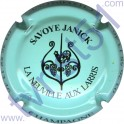 SAVOYE Janick : bleu pâle et noir