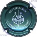 SAVOYE Janick : bleu turquoise métallisé et blanc