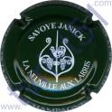 SAVOYE Janick : vert foncé et blanc