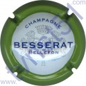 BESSERAT DE BELLEFON n°31 contour vert pâle
