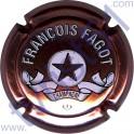 FAGOT François : petites lettres rosé