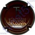 THEVENET-DELOUVIN n°10 marron et métal